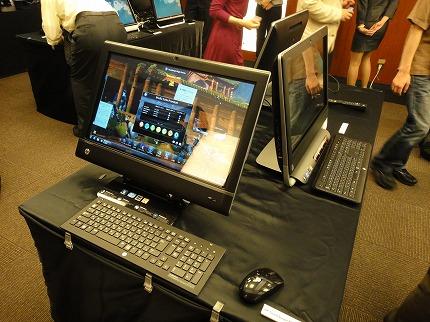 HP Touchsmart 610PCレビュー