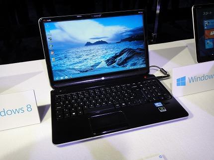 HP dv6-7200レビュー