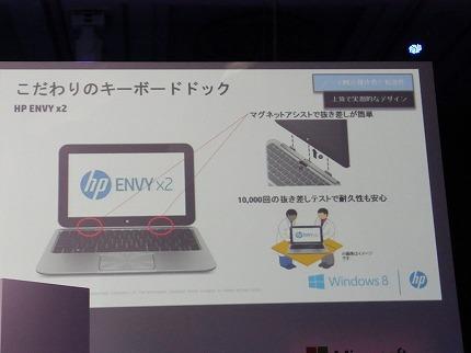 ENVY x2キーボードドック