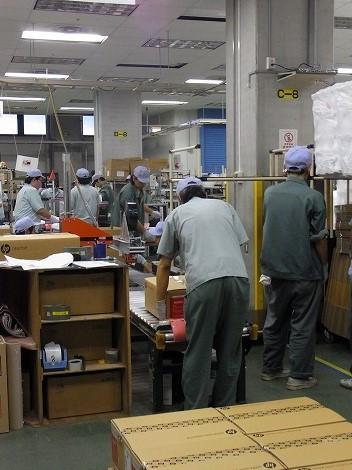HP昭島工場見学