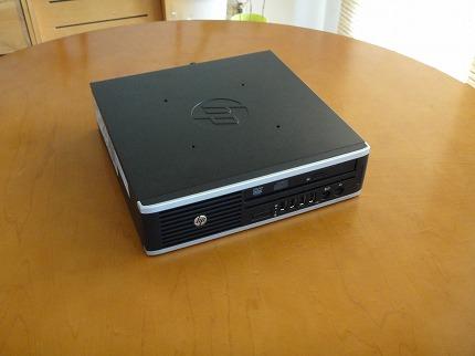 HP Compaq Elite 8300 US横置き