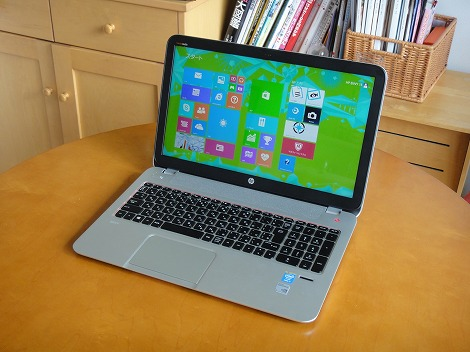 HP ENVY TouchSmart 15-j100レビュー
