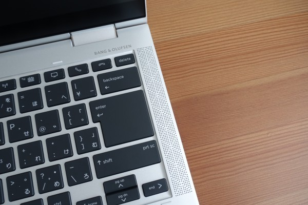 HP EliteBook x360 1040 G6のスピーカー